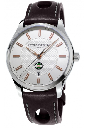 VINTAGE RALLY HEALEY BROW LEATHER STRAP MEN'S WATCH 40MM