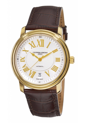 PERSUASION HEART BEAT GOLD ROMAN NUMERALS DIAL WATCH 40MM