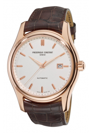 CLASSICS ROSE GOLD PLATED STEEL WATCH 43MM