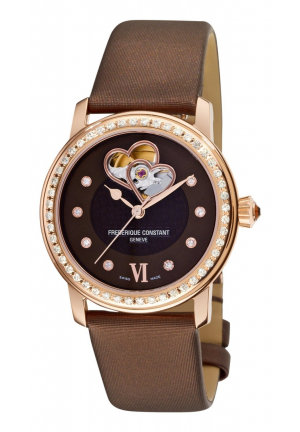 LADIES AUTOMATIC DOUBLE HEART BEAT 35MM