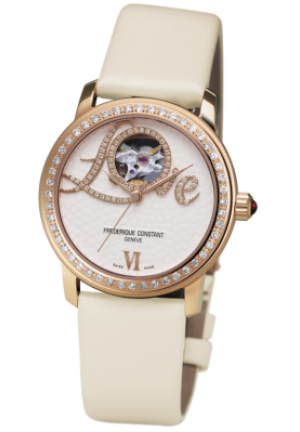LADIES AUTOMATIC LOVE HEART BEAT 34MM