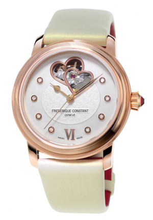 HEART BEAT WORLD HEART FEDERATION LADIES AUTOMATIC WATCH 34MM