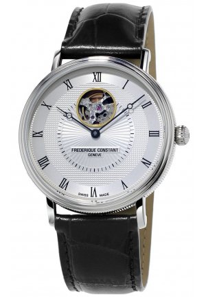CLASSICS HEART BEAT STAINLESS AUTOMATIC MEN'S WATCH FC-312MC4S36, 39MM