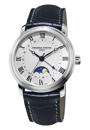 LASSICS MOONPHASE STAINLESS AUTOMATIC MEN'S WATCH FC-330MC4P6 , 40MM