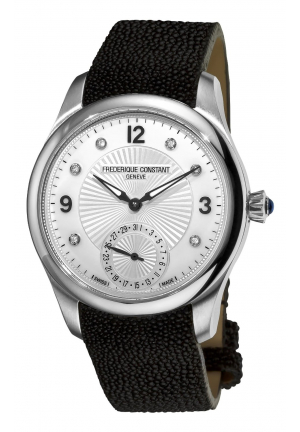 MAXIME MANUFACTURE AUTOMATIC SILVER DIAMOND DIAL WATCH 39MM