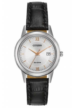 Citizen Women's Ladies Straps Analog Display Japanese Quartz Black Watch