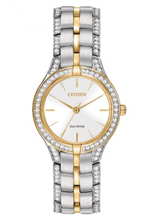 Citizen Women's Dress Analog Display Japanese Quartz Two Tone Watch