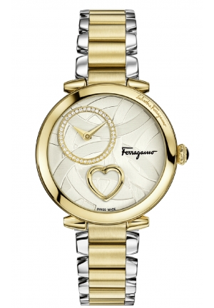 CUORE FERRAGAMO STAINLESS STEEL, 39MM
