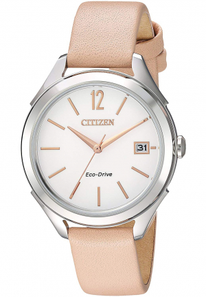 LTR - Long Term Relationship Eco-Drive White Dial Ladies Watch