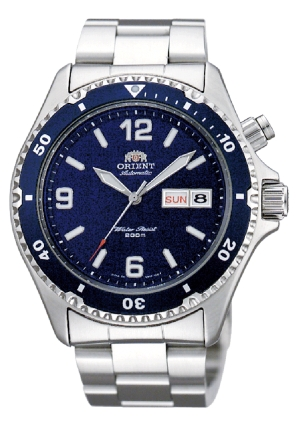 Orient blue mako automatic 41mm