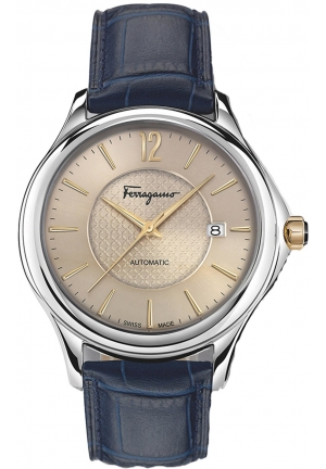 FERRAGAMO TIME STAINLESS AUTOMATIC MEN'S WATCH FFT010016, 41MM