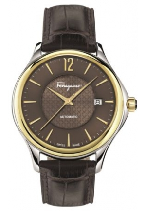 FERRAGAMO TIME STAINLESS AUTOMATIC MEN'S WATCH FFT030016, 41MM