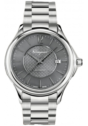 FERRAGAMO TIME STAINLESS AUTOMATIC MEN'S WATCH, 41MM