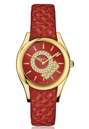 LIRICA ANALOG DISPLAY QUARTZ RED, 33MM