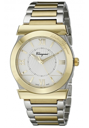 VEGA STAINLESS STEEL AND GOLD ION-PLATED, 38MM