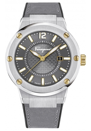 F-80 STAINLESS MEN'S WATCH, 44MM