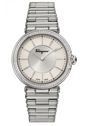 FERRAGAMO STYLE ANALOG DISPLAY QUARTZ LADIES WATCH, 36MM
