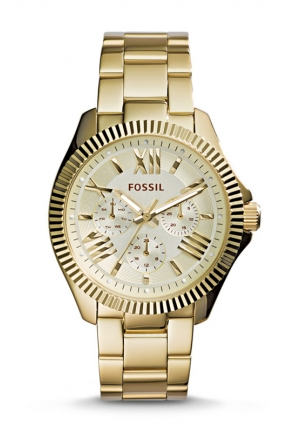 FOSSIL Cecile Gold-Tone Stainless Steel Bracelet Watch 40mm