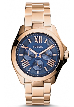 FOSSIL Cecile Rose Gold-Tone Stainless Steel Bracelet Watch 40mm