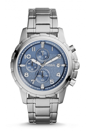 FOSSIL Dean Chro0nograph Stainless Steel Watch 50mm