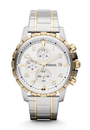 FOSSIL Dean Chronograph Stainless Steel Watch 45mm