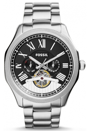 FOSSIL Foreman Multifunction Automatic Stainless Steel Watch 47mm