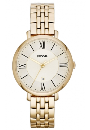 FOSSIL Jacqueline Three-Hand Stainless Steel Watch - Gold-Tone 36mm