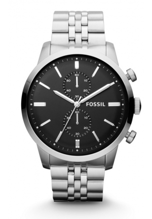 FOSSIL Men's Chronograph Townsman Stainless Steel Bracelet 48mm