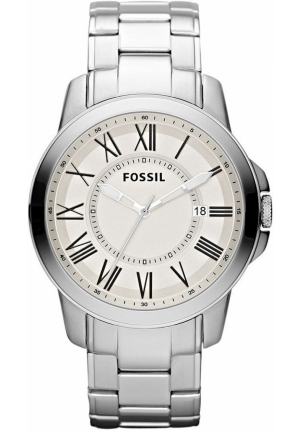 FOSSIL Men's Grant Stainless Steel Bracelet 44mm
