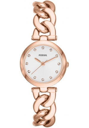 FOSSIL Olive Three-Hand Stainless Steel Watch 28mm