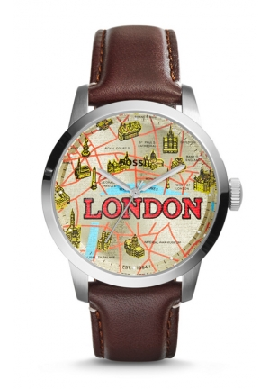 FOSSIL Special Edition Townsman Leather Watch 40mm