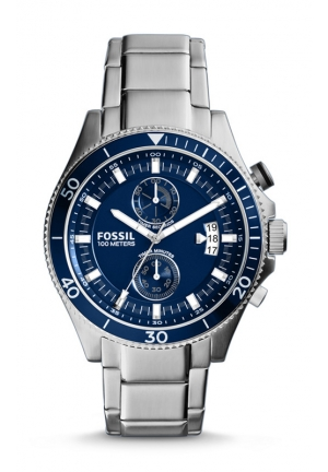 FOSSIL Wakefield Chronograph Stainless Steel Watch 45mm