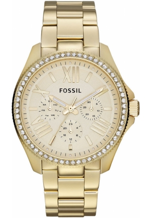 FOSSIL Women's Cecile Gold-Tone Stainless Steel Bracelet 40mm