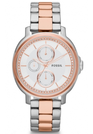 FOSSIL Women's Chelsey Analog Silver Watch 40mm