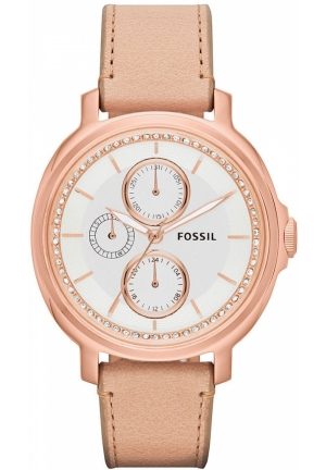 FOSSIL Women's Chelsey Tan Leather Strap 39mm