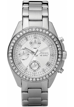 FOSSIL Women's Chronograph Decker Stainless Steel Bracelet 38mm