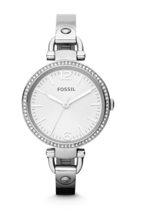 FOSSIL Women's Georgia Stainless Steel Bangle Bracelet 32mm