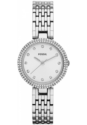 FOSSIL Women's Olive Stainless Steel Bracelet 28mm