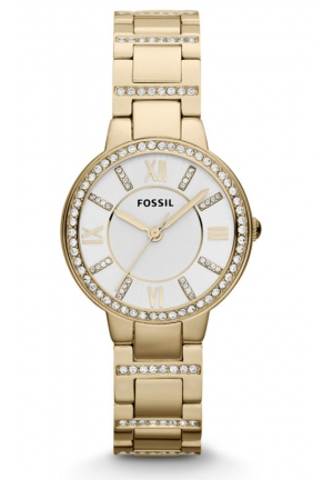 FOSSIL Women's Virginia Gold-Tone Stainless Steel Bracelet 30mm