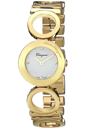 GANCINO YELLOW GOLD ION-PLATED BRACELET LADIES WATCH, 25MM