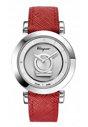 Salvatore Ferragamo Women's Minuetto Analog Display Swiss Quartz Red Watch