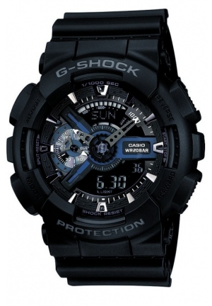 Casio G-Shock  Analog-Digital Black Dial Men's Watch
