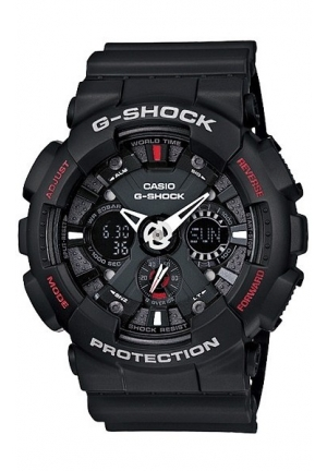 Casio G Shock Men's Black  Analog Digital Anti-Magnectic