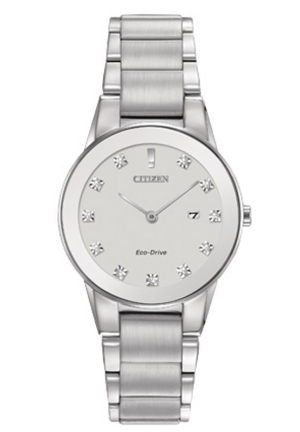 Citizen Women's Axiom Analog Display Japanese Quartz Silver Watch