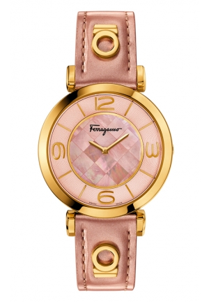 GANCINO DECO Analog Display Swiss Quartz Pink Watch 39mm