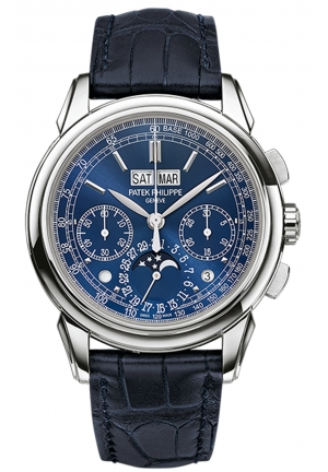 Grand Complication Blue Dial Chronograph Men's Watch 41mm