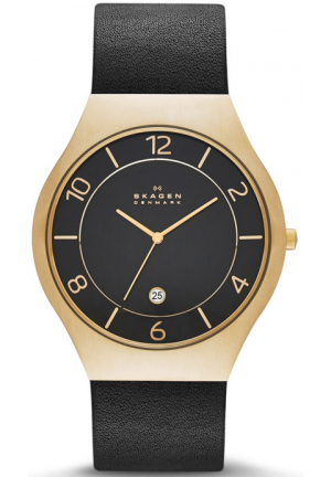 GRENEN LEATHER WATCH 41MM
