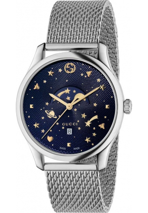 GUCCI G-TIMELESS MOONPHASE SLIM WATCH 40MM