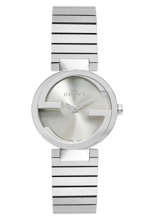 GUCCI Swiss Interlocking Stainless Steel Bracelet  29mm