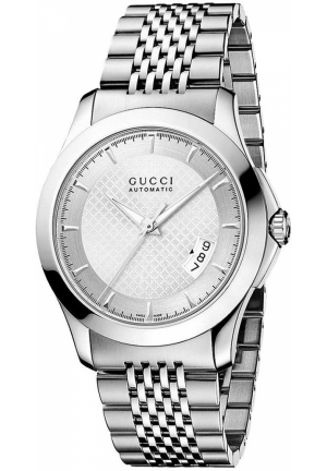 Gucci Watch, Men's Swiss Steel Bracelet  38mm